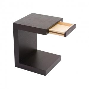 Zio Side Table Black Oak_1